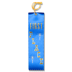 STRB11C - 1st Place Carded Ribbon