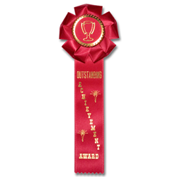ST-AC-7 Outstanding Achievement Rosette