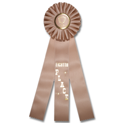 ST-AC-10 Eighth Place Rosette