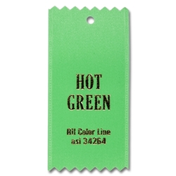 Hot Green Ribbon Swatch