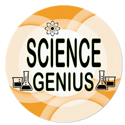 SB-32 Science Genius Button