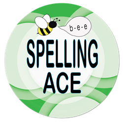 SB-33 Spelling Ace Button