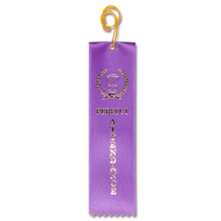 STRB21C - Perfect Attendance Stock Carded Ribbon