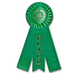 ST-4 First Place Rosette