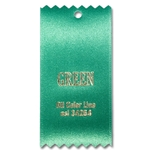 Green Ribbon Swatch