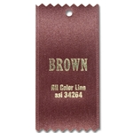 Brown Ribbon Swatch