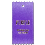 Purple Ribbon Swatch