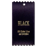 Black Ribbon Swatch