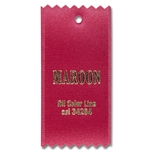 Maroon Ribbon Swatch