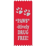 "SDF - ""Paws""-itively Drug Free!"