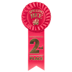 ST-5 Second Place Rosette