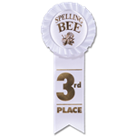 ST-5 Third Place Rosette
